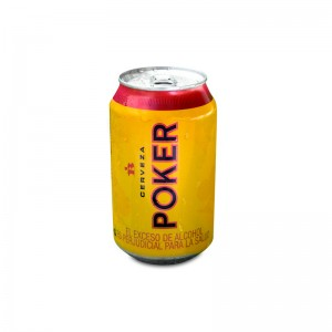 cerveza poker Lata 330 Ml