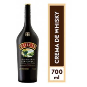 Crema de Whisky Baileys Original Botella X 700 Ml