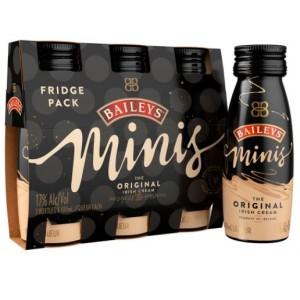 Crema de Whisky Baileys Minis Irish cream Original X 3 unidades