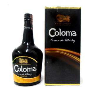 Coloma Crema de Whisky Botella X 750 Ml