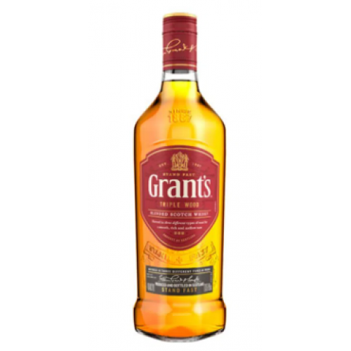 Grant´s  Triple Wood Whisky 40% vol Botella X 750 Ml