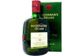 Whisky Buchanan´s de luxe 12 years Botella X 750 Ml