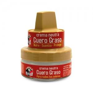 Crema Neutra cuero graso  Para todos los colores Frasco X 36 Gramos