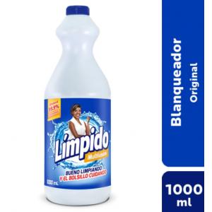 Límpido Multiusos Original Frasco X 1000 Ml