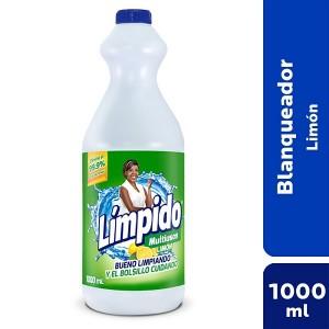 Límpido Multiusos Limón Frasco X 1000 Ml