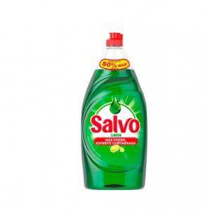 Salvo Jabón liquido limón para la cocina Frasco X 215 Ml