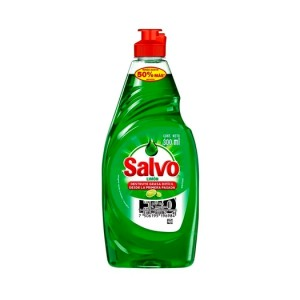 Salvo Jabón liquido limón para la cocina Frasco X 300 Ml