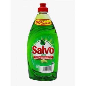 Salvo Jabón liquido limón para la cocina Frasco X 500 Ml