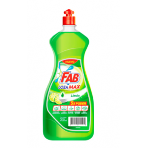 Fab lozamax liquido limón Frasco X 700 Ml