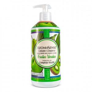 Aromasense Jabón liquido Frutos Verdes Frasco X 580 Ml