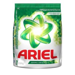 Ariel Detergente en polvo Bolsa X 1500 Gramos