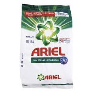 Ariel Detergente en polvo Bolsa X 1 Kg