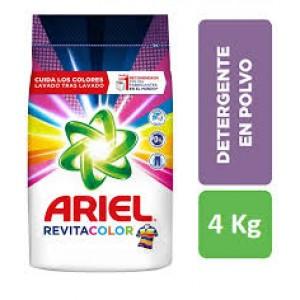 Ariel Revita-color Detergente en polvo Bolsa X 4 Kg