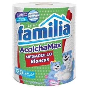 Toallas Familia Acolcha max Paquete X 120 Unidades