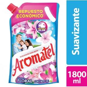 Aromatel Fragancia Floral suavizante para Ropa Doy pack X 1800 Ml