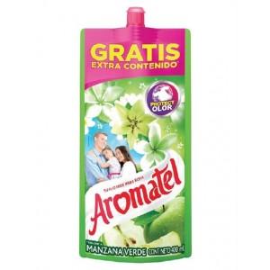 Aromatel Fragancia manzana verde Suavizante de ropa Doy Pack X 400 Ml